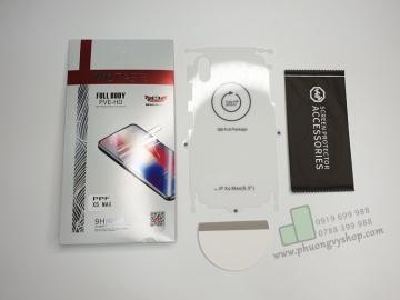 Dán PPF mặt sau và viền máy iPhone hiệu Wotaer